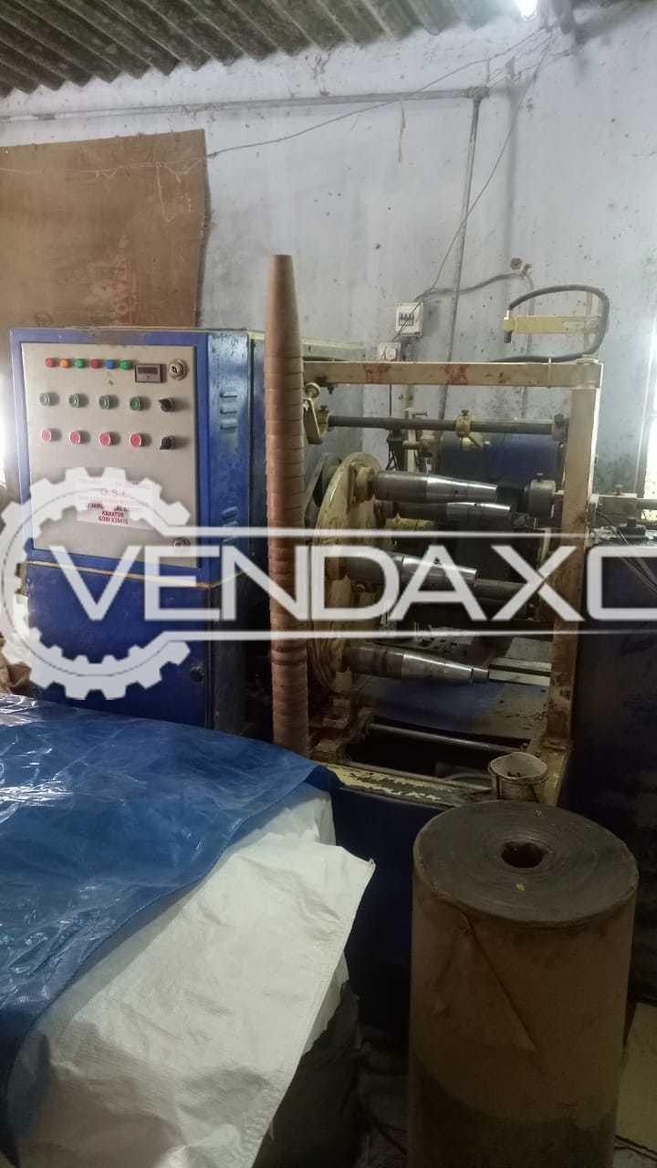 Paper Cone Machine - Semi Automatic - 34 Cone Per Minute