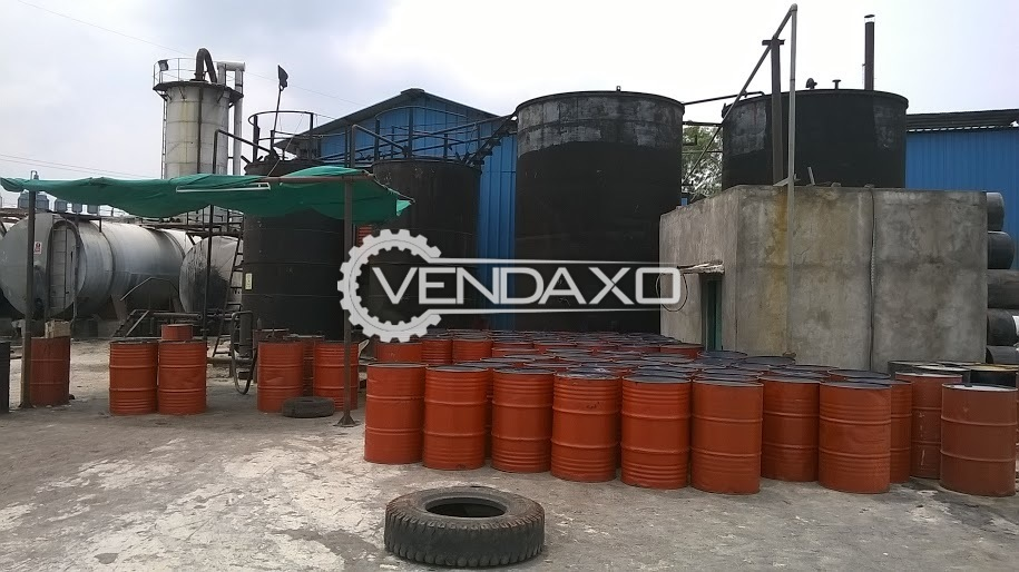 Enh Denmark Make Emulsion Manufacturing- Crmb Conversion Unit & Oil Plant