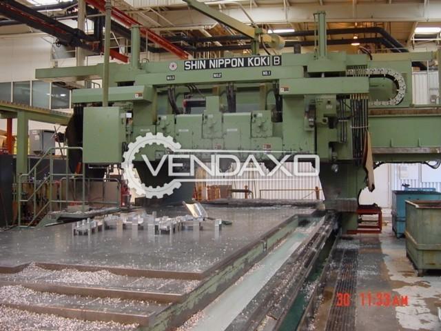 Shin Nippon KOKI Double Column Boring Machine - 15000 X 4000 mm