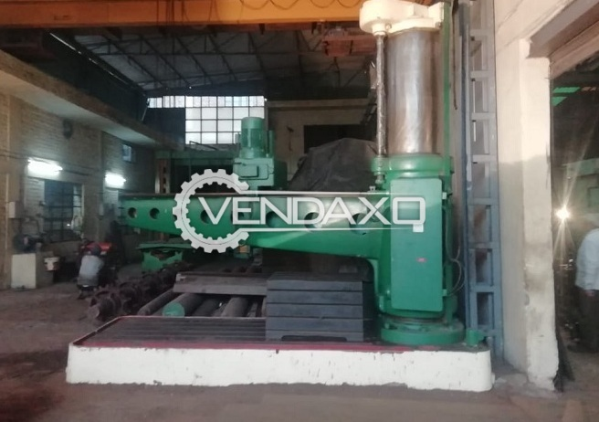 Available For Sale Radial Drilling Machine - 2.3 Meter x 80 mm