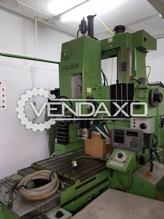 Hauser 5-SM JIG Grinding Machine - 750 x 620 mm