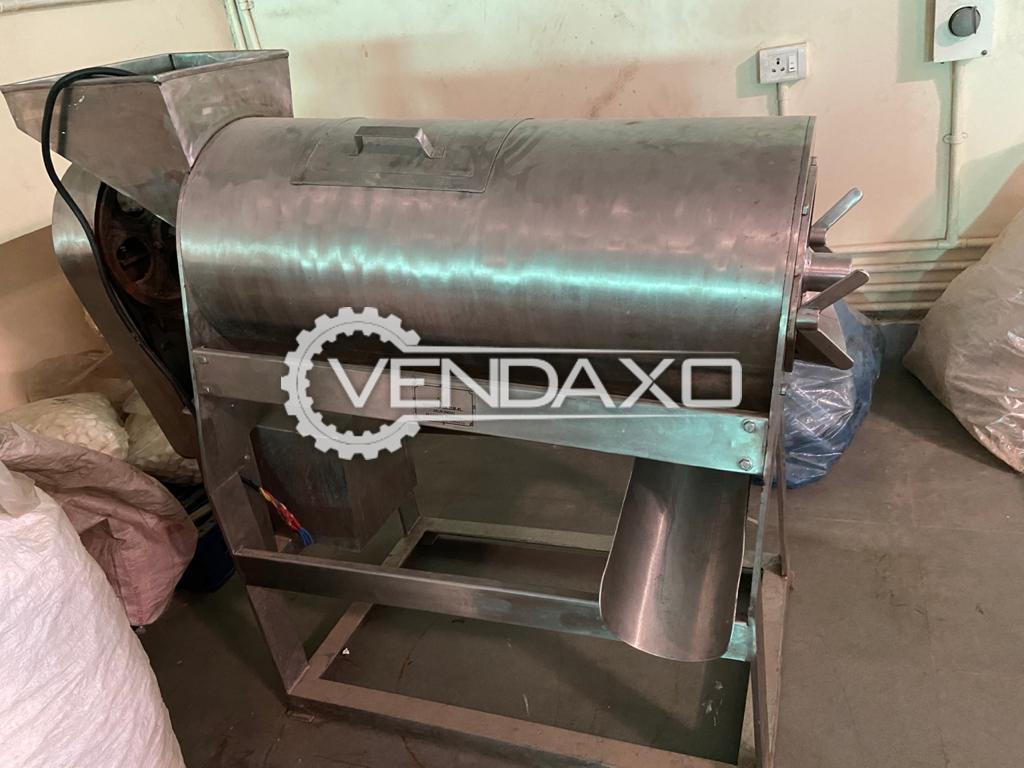 For Sale Used Vegetable Pulper Machine - Fully SS 304