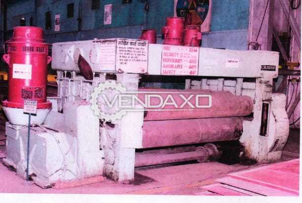 USA Make Plate Leveller Machine - Size : 2500 mm, Thickness : 12 mm