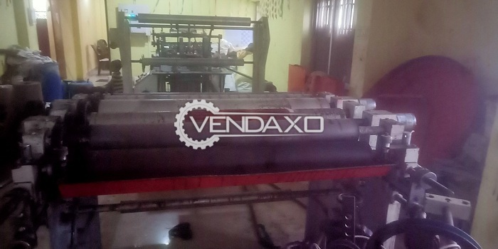 Paper Bag Making Machine With 2 Color Flexographic Printing Machine