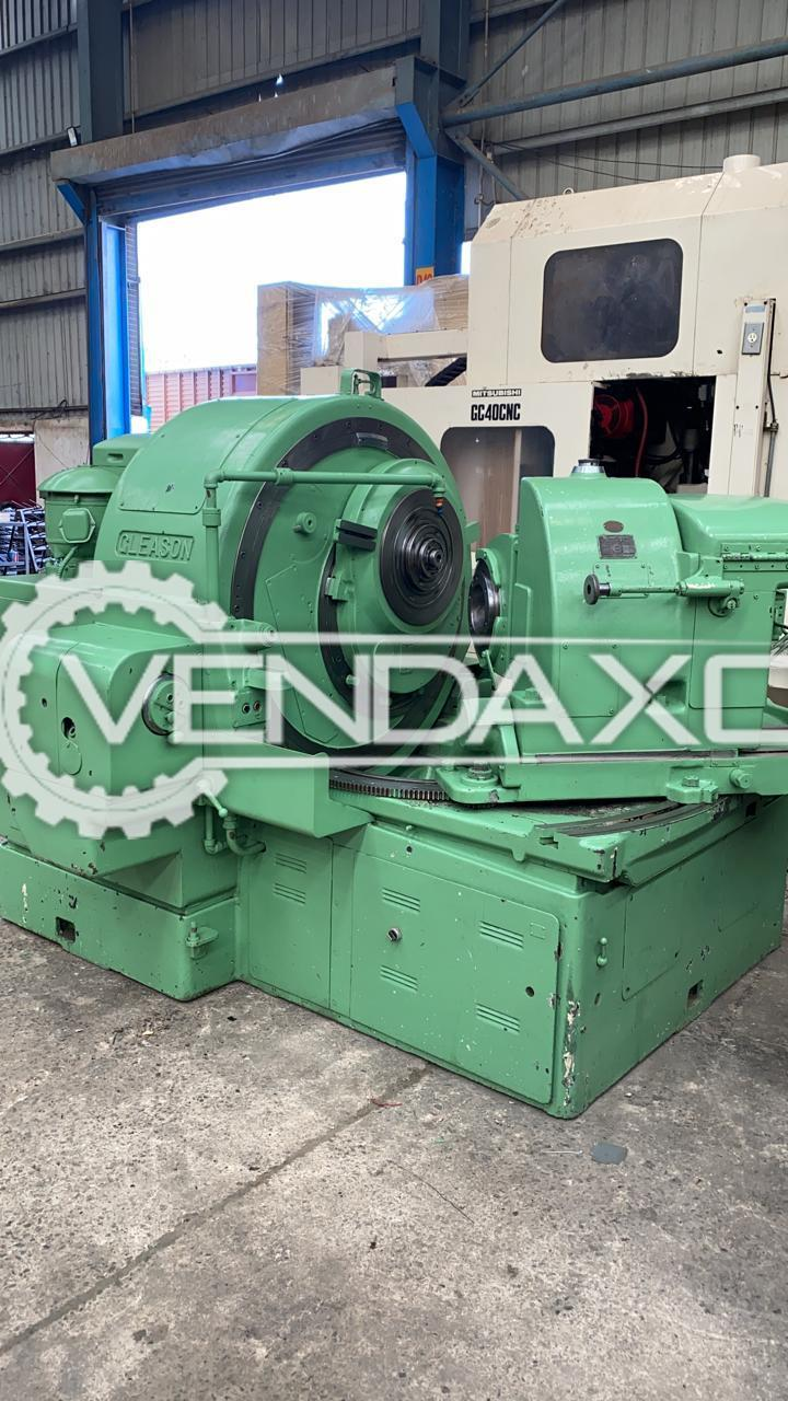 Gleason 26 Hypoid Spiral Bevel Gear Generator - Max. Wheel Diameter : 840 mm