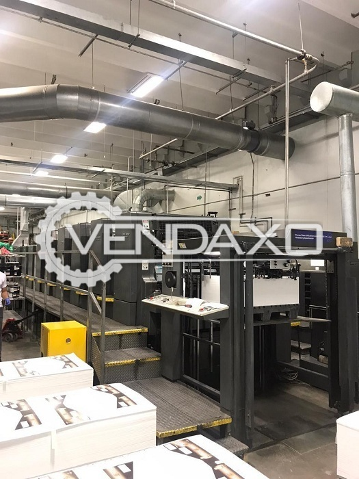 Heidelberg CD 102-6-LYLX Offset Printing Machine - 28 x 40 Inch, 6 Color
