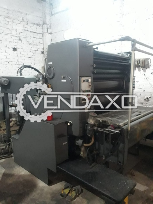 Heidelberg SORD 531 Offset Printing Machine - 25 x 36 Inch, Single Color