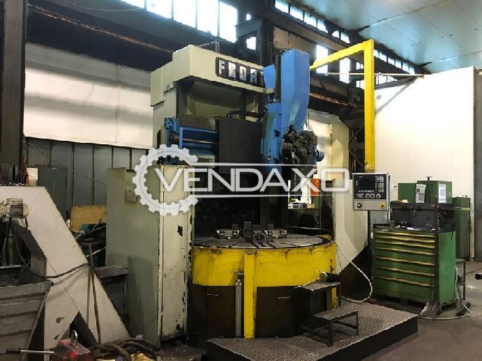 Froriep CNC Vertical Turret Lathe VTL Machine - Table diameter : 1800 mm