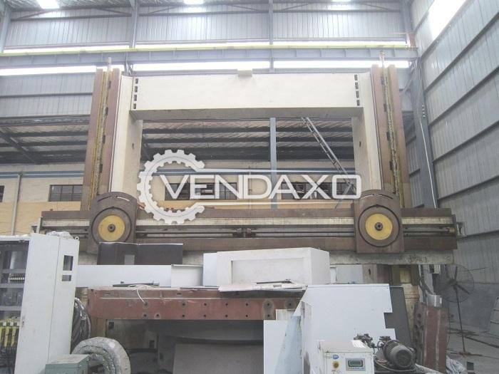 Accut VTL-63 CNC Vertical Turret Lathe VTL Machine - Max. Turning Diameter -  6300 mm