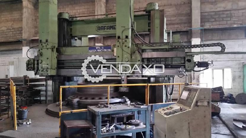 Rafamet Polish KCF320 Vertical Turning Lathe VTL Machine - Turning Diameter - 3500 mm