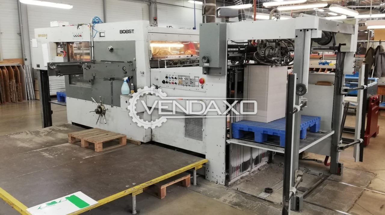 Bobst SP102E Automatic Die Cutting Machine - 28 X 40 Inch