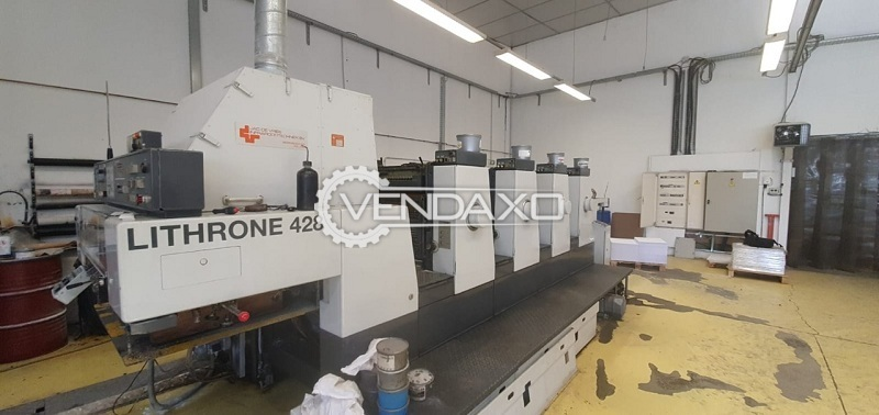 Komori Lithrone 428 Offset Printing Machine - 20 X 28 Inch, 4 Color
