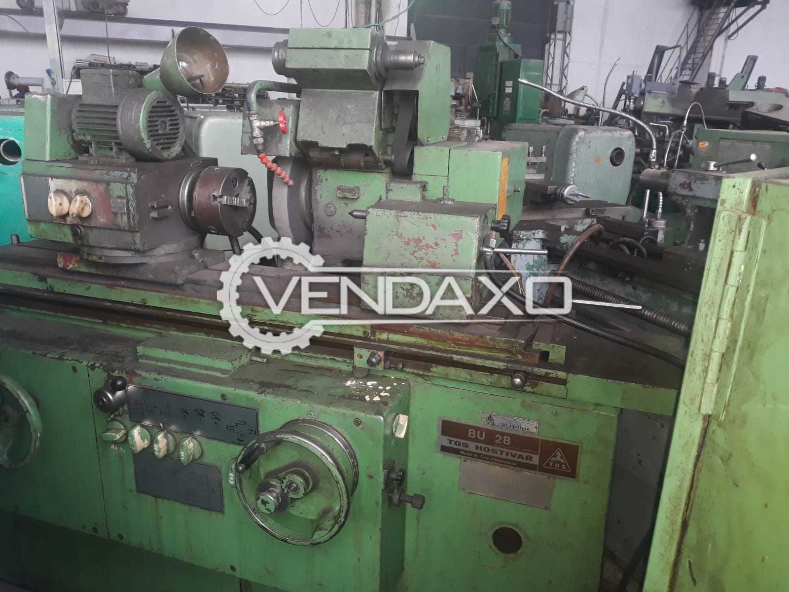 TOS BU28 Cylindrical Grinding Machine - Capacity : 630 mm