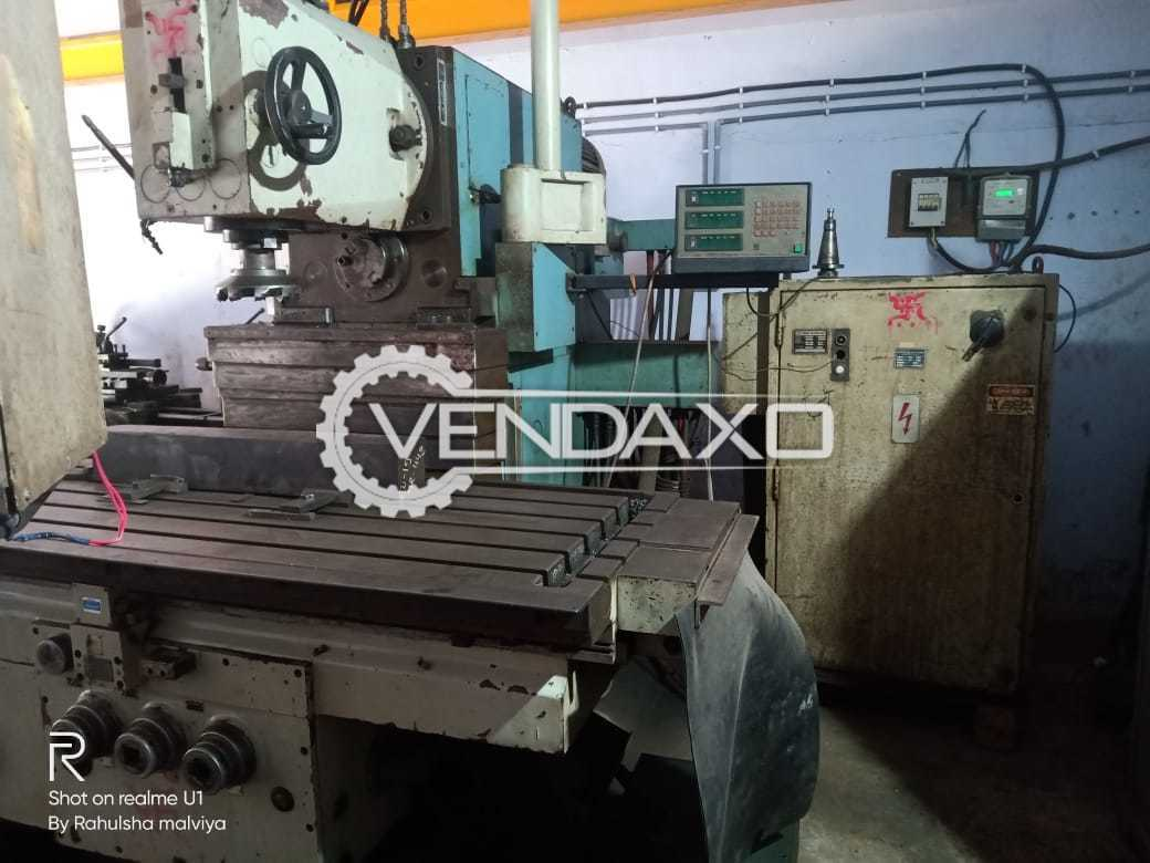 Tos Kurim FGS 50 Universal Milling Machine - Bed Size - 2000 x 650 mm