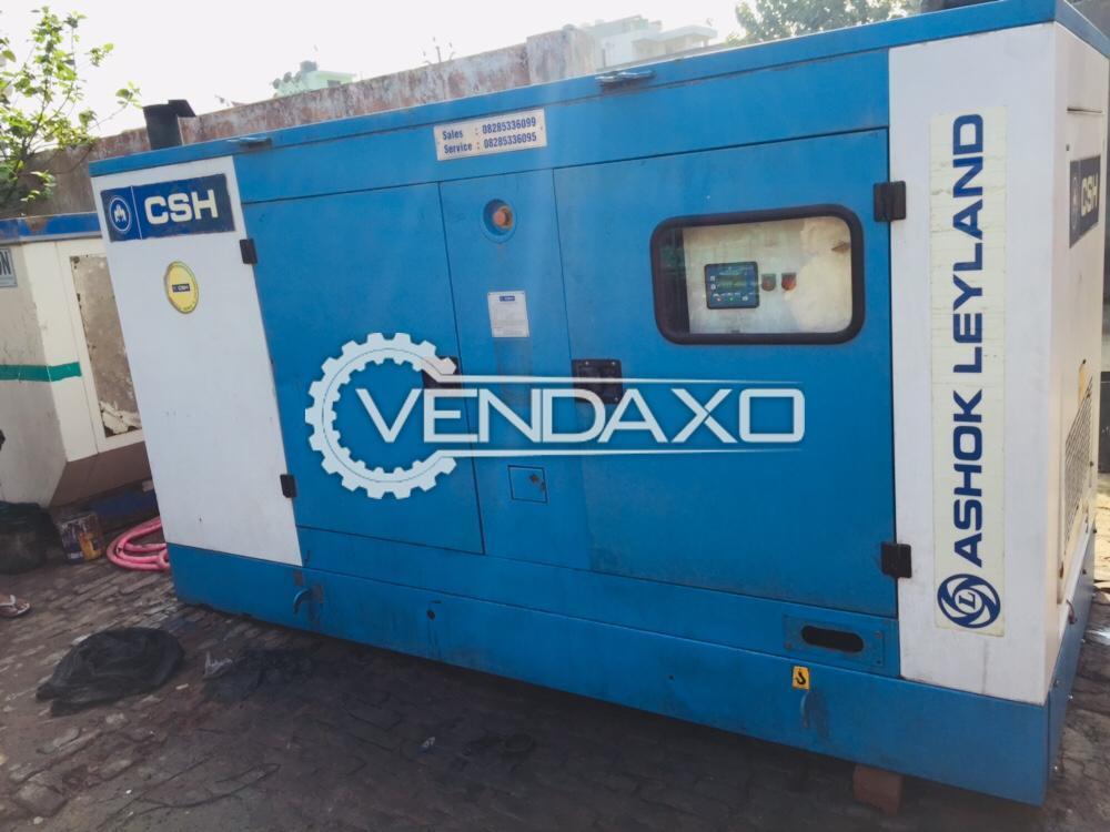 Ashok Leyland Diesel Generator - 125 Kva, 2014 Model