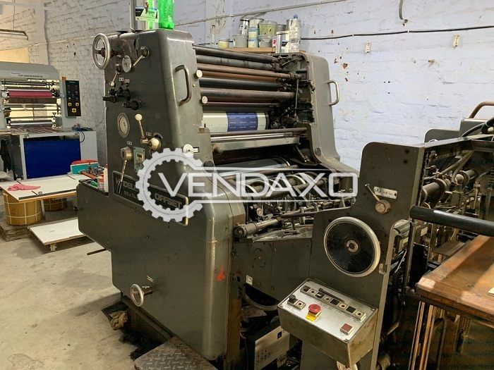 Heidelberg Offset Printing Machine - 20 x 29 Inch, Single Color