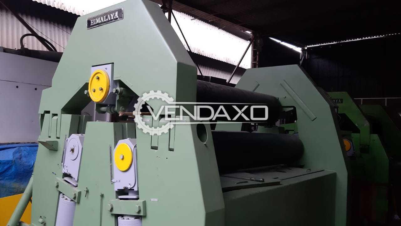 Himalaya Automatic Plate Bending Machine - 2.5 Meter x 42 mm