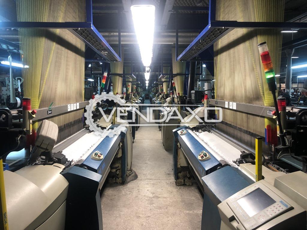 24 Set OF Picanol Gammax 8-J Jacquard Weaving Machine - Width - 1.90 Meter