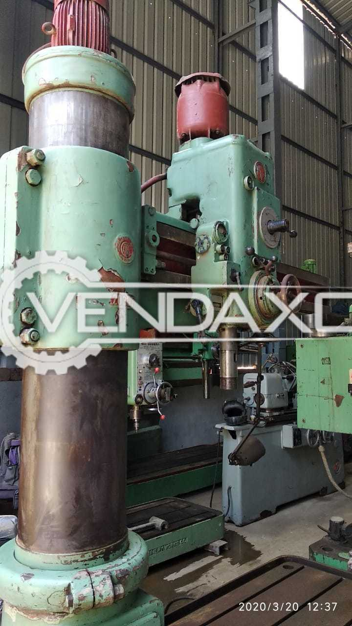 Colombo RM 62 Radial Drill Machine - Drilling Capacity : 50 mm