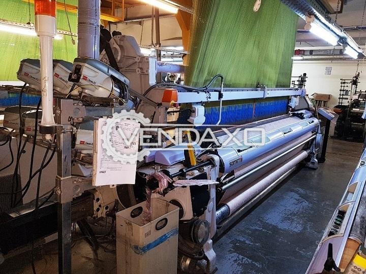 4 Set OF Somet Alpha PGA Hi Drive Jumbo Jacquard Weaving Machine - Width - 3.40 Meter