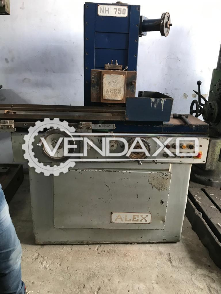 Alex NH 750 Grinding Machine - Magnet Size : 750 x 250 mm