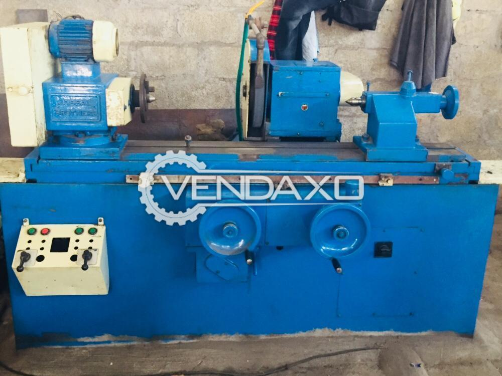 Indian Make Cylindrical Grinding Machine - Table Size : 200 x 1000 mm