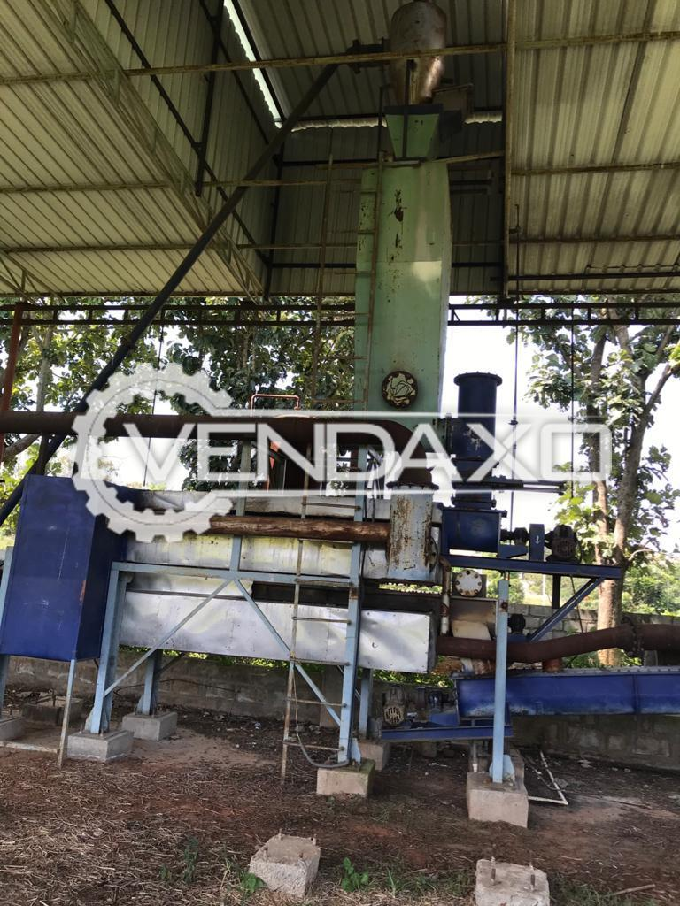 Available For Sale Biomass Briquette Machine - 50 Ton Per Day