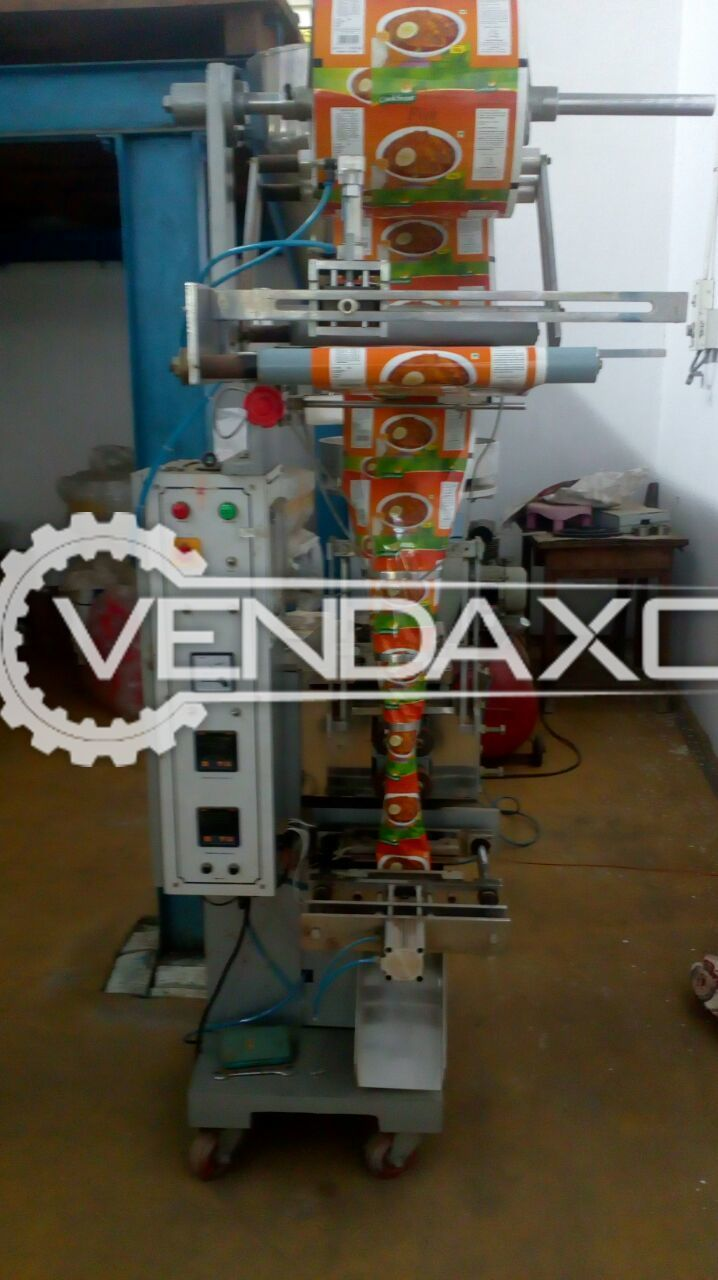 Pouch Packing machine for Powders