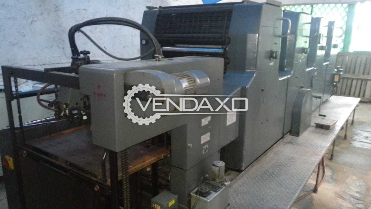 Heidelberg MOVP Offset Printing Machine - 19 x 25 Inch, 4 Color