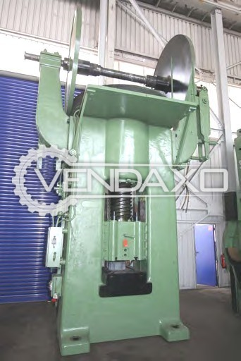 Gustav Wolff RSP1000 Friction Screw Press Machine - Capacity : 1000 Ton