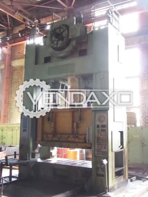 Ravne DE315FS Forging Press Trimming Machine - 315 Ton