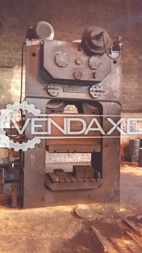 Wilkins & Mitchell G54S4-10 Forging Press Trimming Machine - 350 Ton