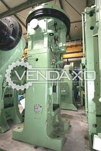 Eumuco PF800 Friction Screw Press Machine - Capacity : 1000 Ton