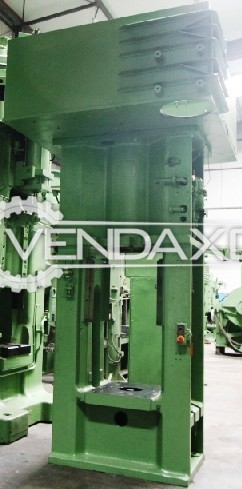 Siempelkamp Make Friction Screw Press Machine - Capacity : 800 Ton