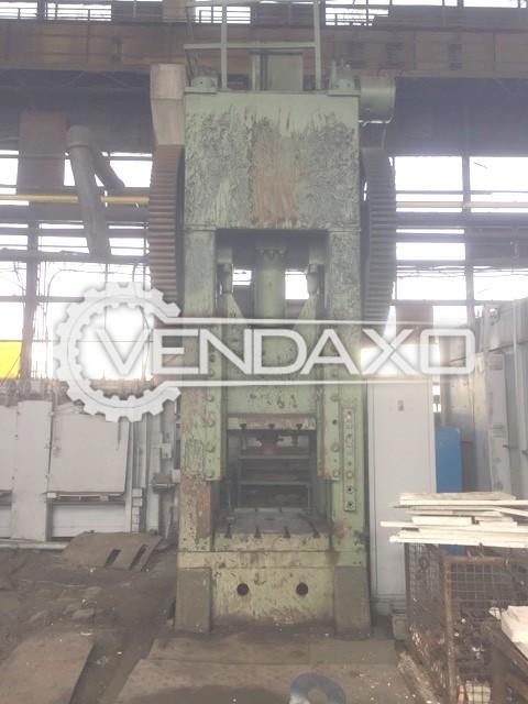 WMW Erfurt DC400 Forging Press Trimming Machine - 400 Ton