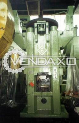 Hasenclever Make Friction Screw Press Machine - Capacity : 800 Ton