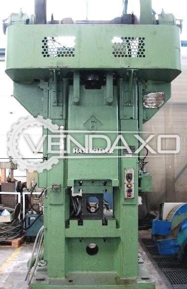 Hasenclever Make Friction Screw Press Machine - Capacity : 315 Ton