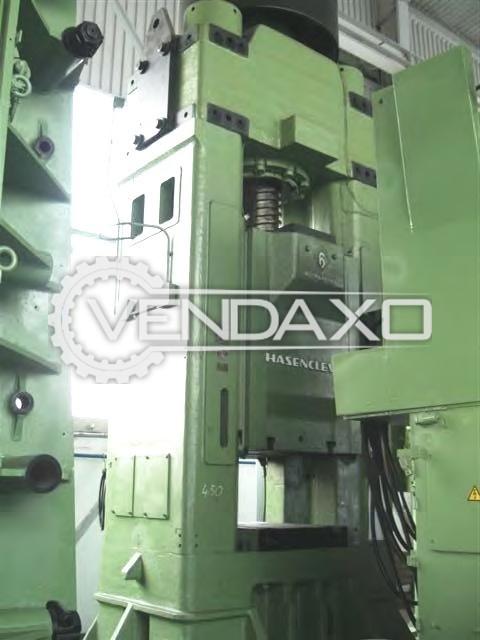 Hasenclever Make Friction Screw Press Machine - Capacity : 3000 Ton