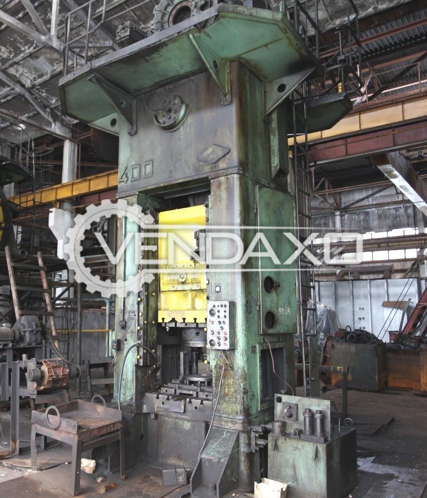 TMP Voronezh Russia KB9536 Forging Press Trimming Machine - 400 Ton