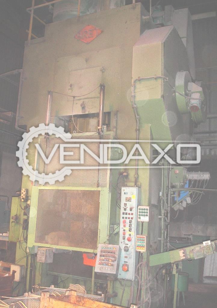 Bret PMX80 Forging Press Trimming Machine - 800 Ton