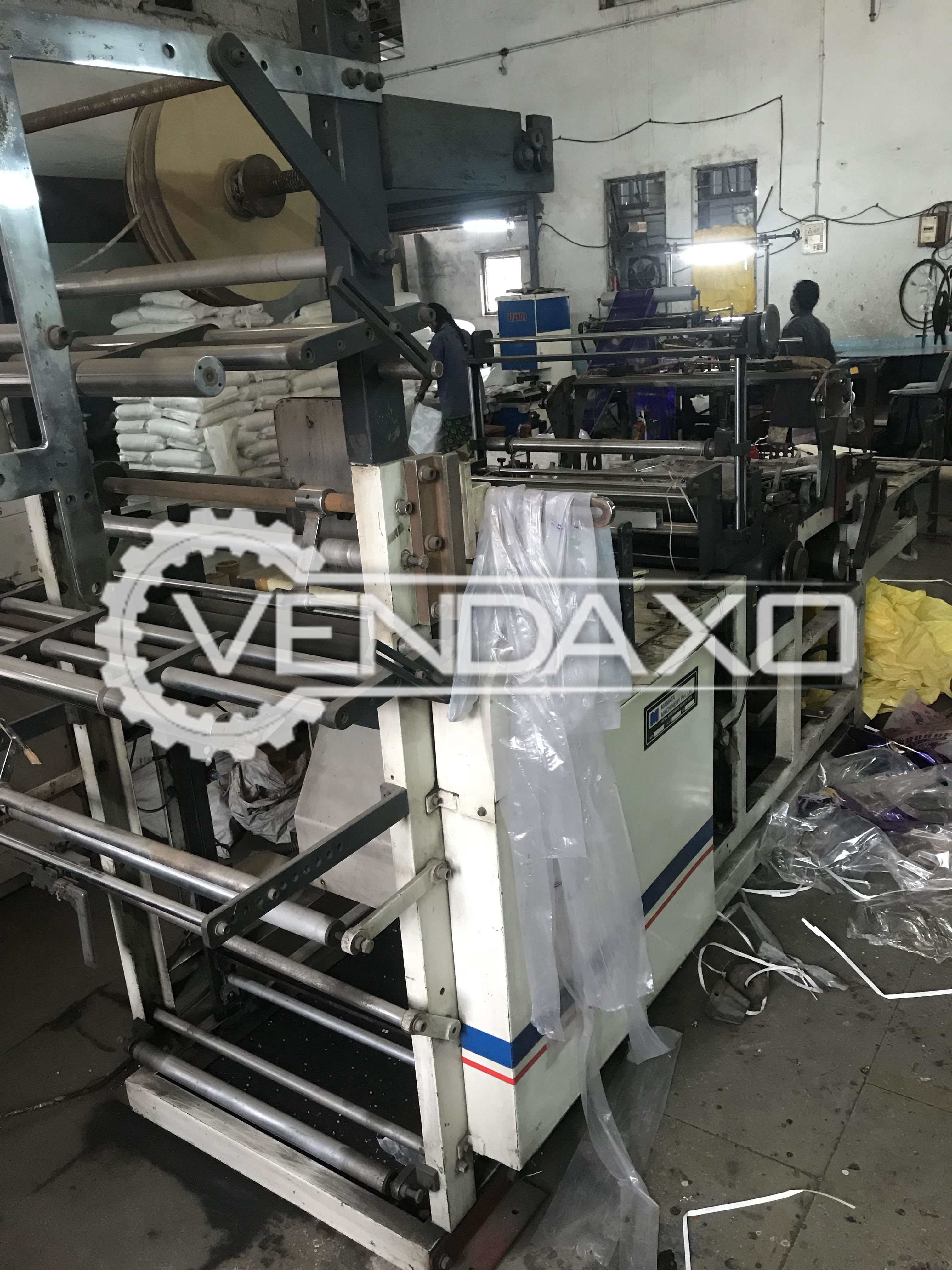 "Automatic BM 600-S - Plastic Bag Making Machine (Side Sealing & Cutting) - 24"" Width"