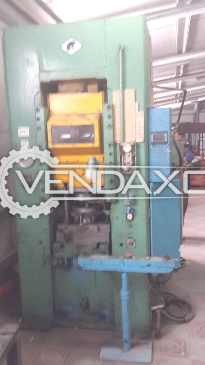 Barnaul Russia K8336 Knuckle Joint Coining Press Machine - Capacity : 400 Ton