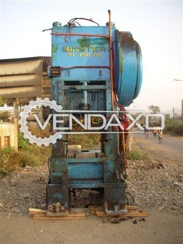 Minster P-150-28 Forging Press Trimming Machine - 150 Ton