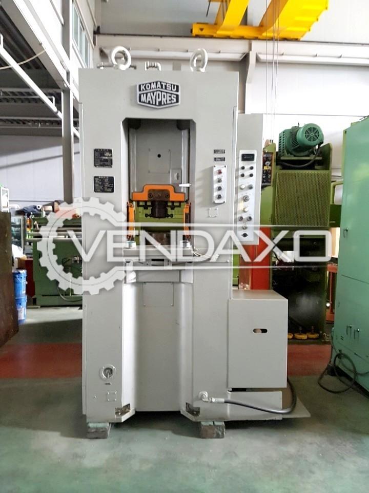 Komatsu Maypress MKN160 Knuckle Joint Coining Press Machine - Capacity : 160 Ton