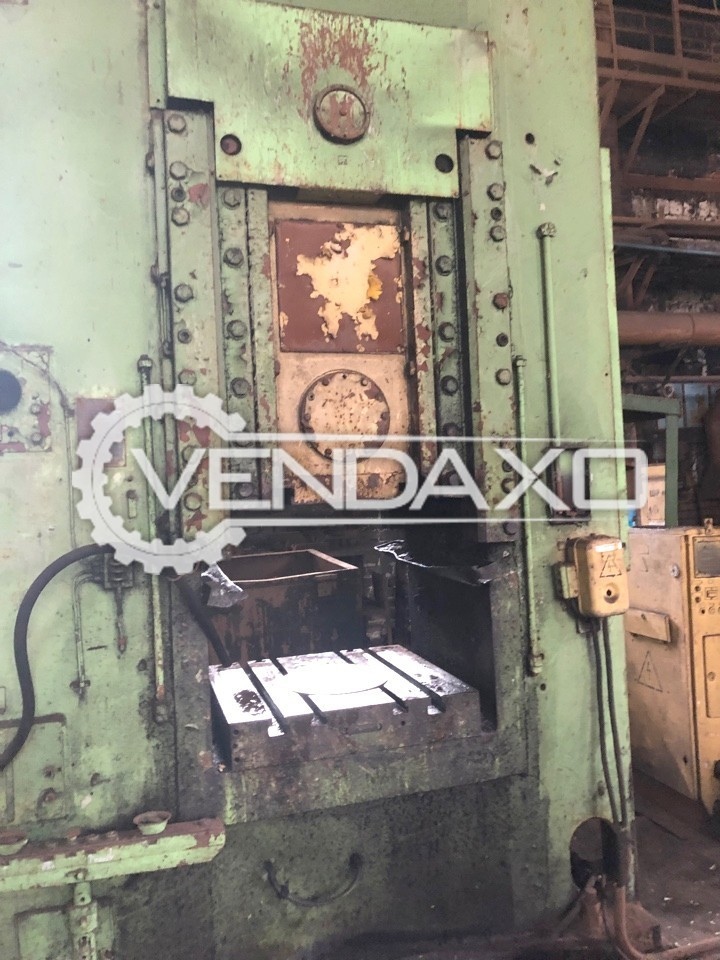 Barnaul Russia KB8340B Knuckle Joint Coining Press Machine - Capacity : 1000 Ton