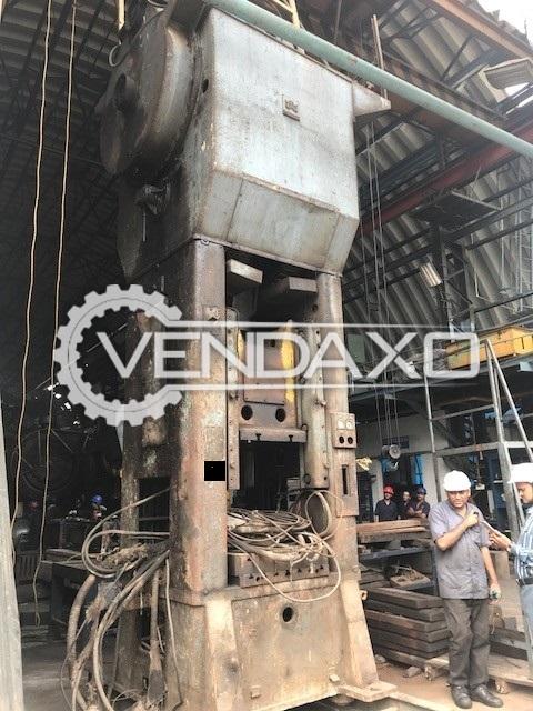 WMW Erfurt PKZ250-800II Forging Press Trimming Machine - 250 Ton