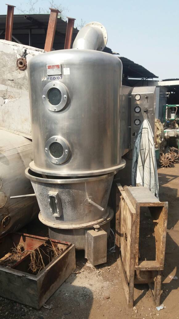 Used fluid bed dryer 3