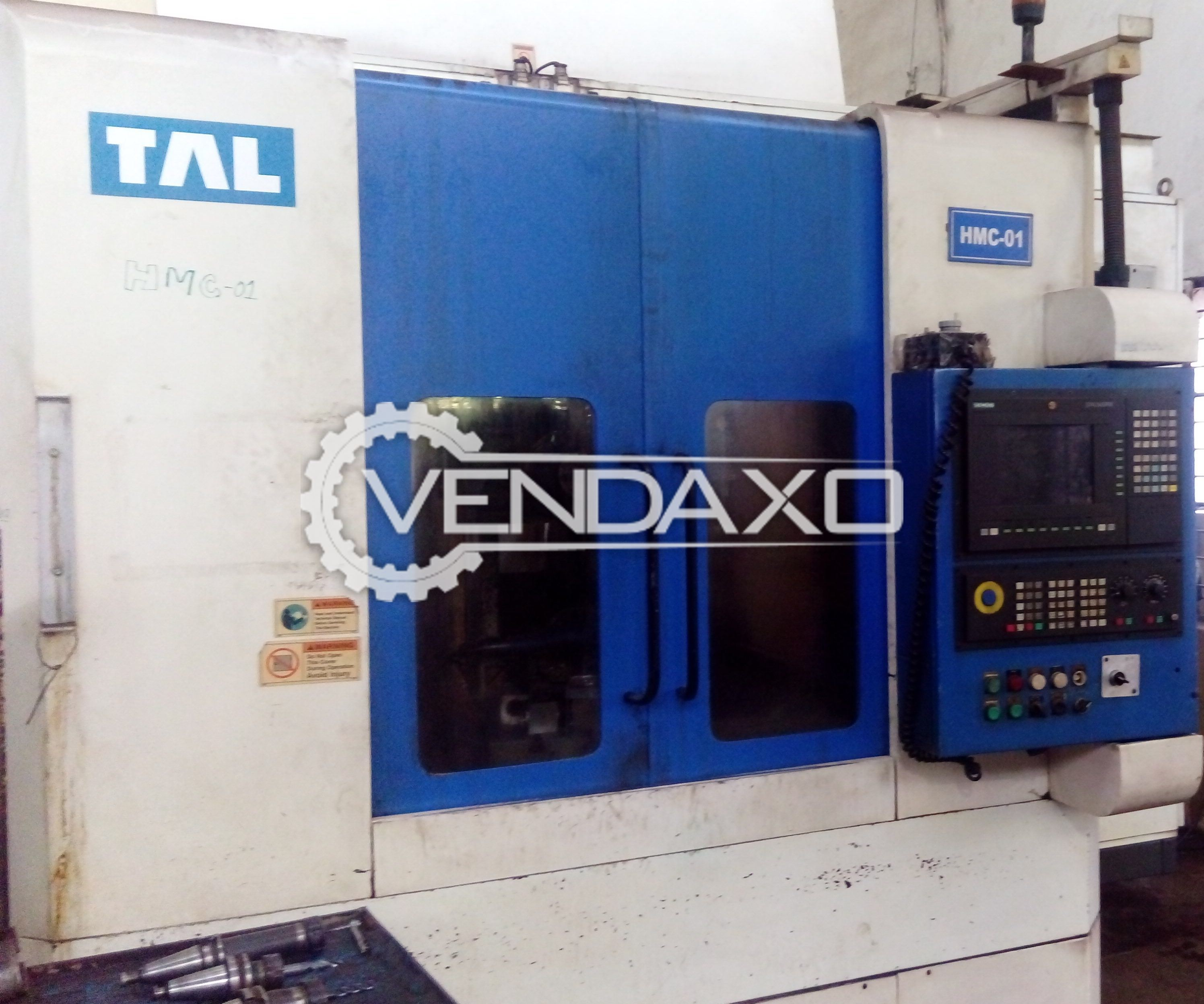 TAL CNC Horizontal Machining Center HMC - 1000 x 500 x 500 mm