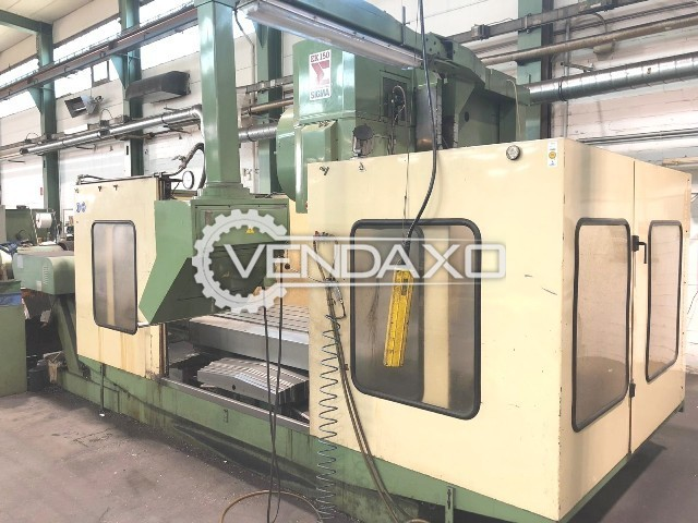 Sigma EK150 CNC Vertical Machining Center VMC - Table Size - 1900 x 750 mm