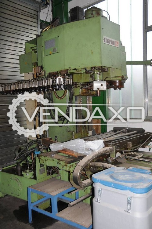 Chiron Chiromat Vertical Machining Center VMC - Table Size - 1800 x 500 mm